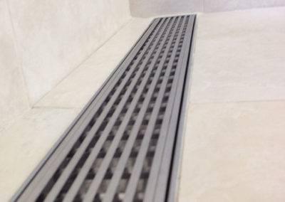 WW27 LUXE Linear Shower Drain Wedgewire
